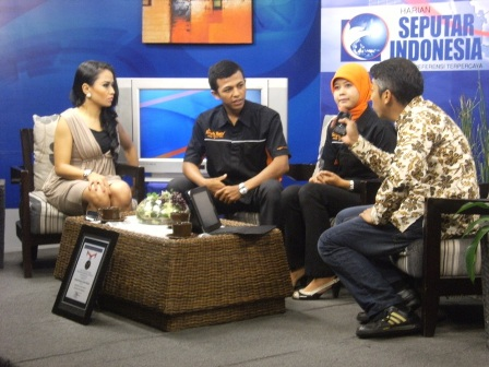 """Talkshow """"Kilas Sindo"""" di TV Lokal Bandung IMTV"""