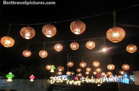 Taman Pelangi dan Lampion