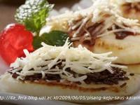 Pisang Keju ala Café Madtari