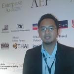 Presiden Direktur Sushantco Group (Simply Fresh & Simply Homy) Menghadiri AEF 2012 di Macau, China