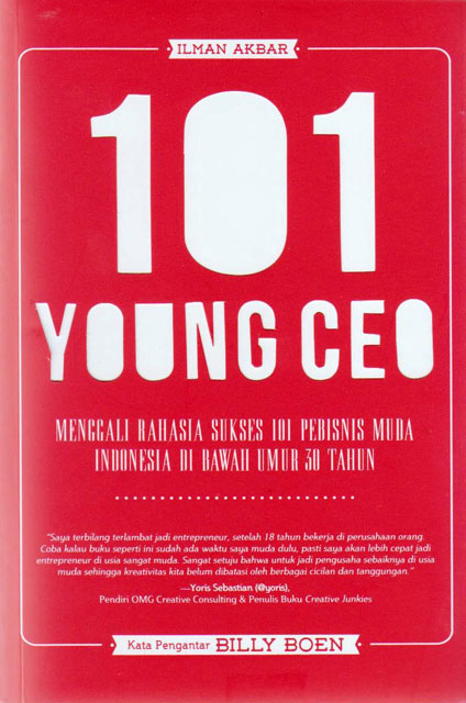 CEO Simply Group di Buku 101 Young CEO