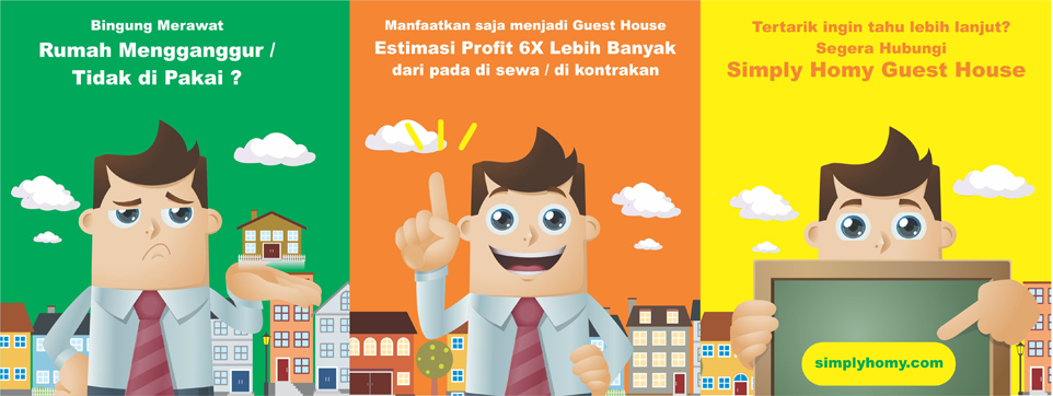 Franchise guest house Indonesia