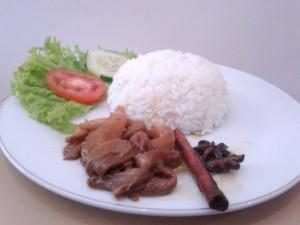 menu vegetarian simply homy guest house