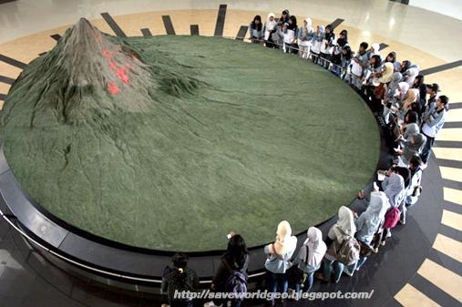 Wisata Edukasi Museum Gunung Merapi