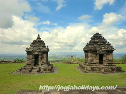 Candi Ijo Candi Tertinggi di Yogyakarta