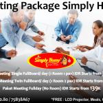 Paket Meeting Simply Homy