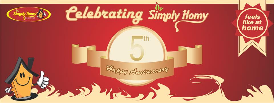 Simply Homy Guest House Jogja & Bandung Happy Anniversary