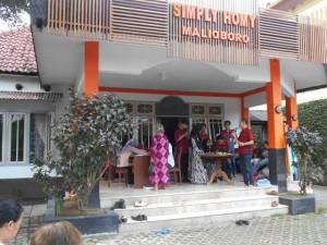 Serunya CSR Simply Homy di Guest House Malioboro