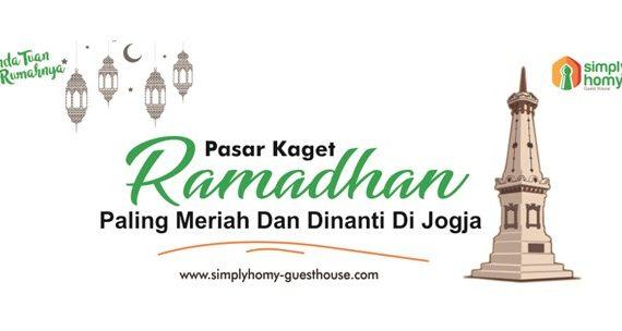 Rekomendasi 3 Pasar Kaget Ramadhan di Jogja Paling Meriah & Dinanti