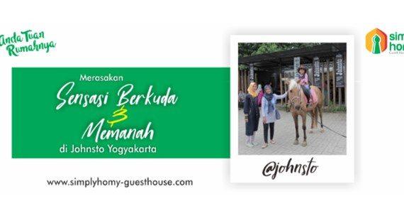 Merasakan Sensasi Berkuda dan Memanah di Johnsto Yogyakarta