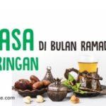Tips Agar Puasa di Bulan Ramadhan Terasa Ringan