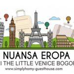 Nuansa Eropa di The Little Venice Bogor