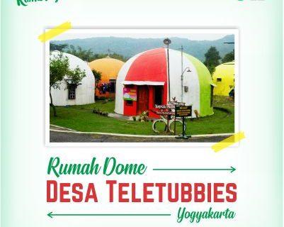 Rumah Dome Desa Teletubbies di Yogyakarta