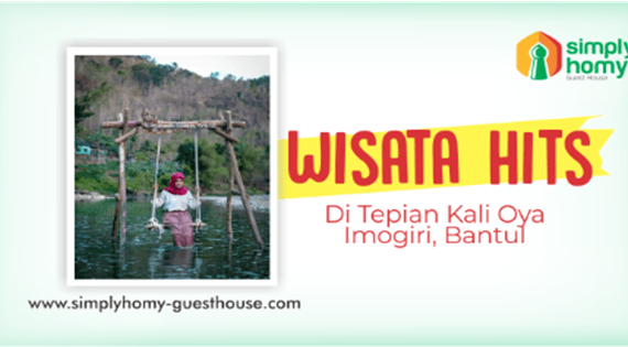 Destinasi Wisata Hits Di Tepian Kali Oya, Imogiri Bantul