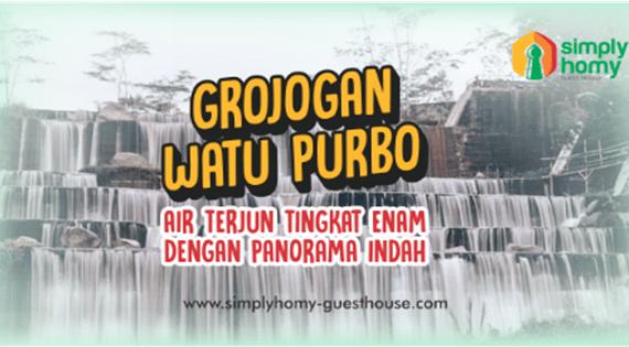 Grojogan Watu Purbo, Air Terjun Bertingkat Enam Dengan Panorama Indah
