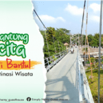 Jembatan Gantung Nawacita Bantul Kini Jadi Destinasi Wisata